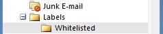 Search Folders Labels