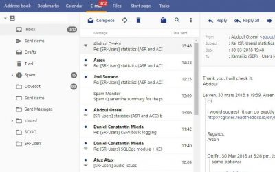New webmail sneak preview