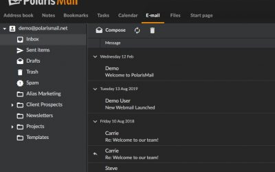 Webmail Dark Theme Is Now Available